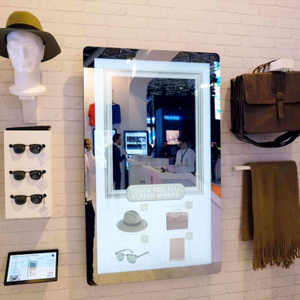 Mirror Pcap Touch Screen With Dual Os Store Fittings Direct